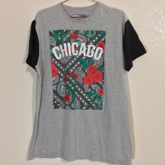 HORIZON NY Other - Horizon NY   Men's Chicago & Roses Graphic Tee XL